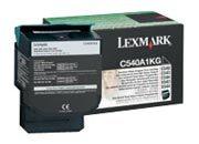 consumabili C540A1KG  LEXMARK TONER LASER NERO 1.000 PAGINE RESTITUIBILE C/540/543/544 X/543/544.