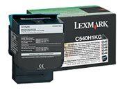 consumabili C540H1KG  LEXMARK TONER LASER NERO 2.500 PAGINE RESTITUIBILE C/540/543/544 X/543/544.