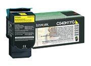 consumabili C540H1YG  LEXMARK TONER LASER GIALLO 2.000 PAGINE RESTITUIBILE C/540/543/544 X/543/544.