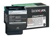 consumabili C544X1KG  LEXMARK TONER LASER NERO 6.000 PAGINE RESTITUIBILE C X.