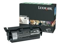 consumabili X654X04E  LEXMARK CARTUCCIA DI STAMPA NERO 36.000 PAGINE RESTITUIBILE X/654/656/658/658.