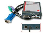 lindy Ip access switch classic Accesso KVM sicuro via LAN, Internet e Dial Up.