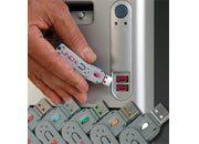 lindy Serrature per porte USB Rosse Dispositivo semplice ed efficace per bloccare l'accesso al vostro computer tramite la porta USB.