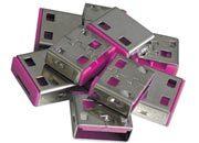 lindy Serrature addizionali per porte USB Rosse Serrature addizionali rosse.