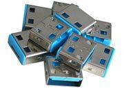 lindy Serrature addizionali per porte USB Blu Serrature addizionali blu.
