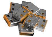 lindy Serrature addizionali per porte USB Arancione Serrature addizionali arancioni.