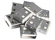 lindy Serrature addizionali per porte USB Bianche Serrature addizionali bianche.