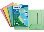 gbc Cartellina Chemise per cartelle sospese Formato interno 22x30cm, Formato esterno 23,3x31,5cm, Colore: SALMONE, Materiale: cartoncino kraft.