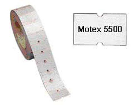 gbc Etichette 20x12 per prezzatrice Towa e Motex BIANCO, adesivo RIMOVIBILE, per prezzatrice Towa gs-gm, Motex 5500.