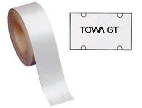 gbc Rotolo 700 etichette 30x18 bianche rimov.quadrate towa gt etichette rettangolari bianche rimovibili..