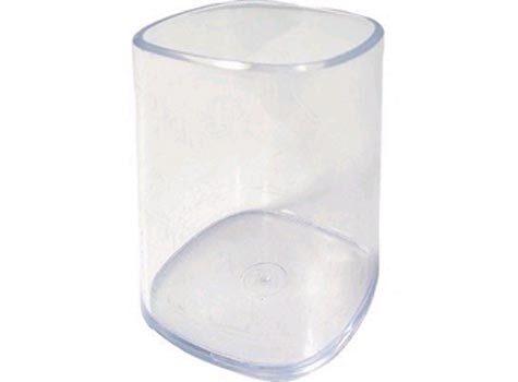 acco Bicchiere portapenne Mondial Lus TRASPARENTE.