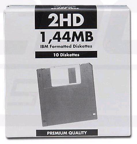acco Floppy disk 1,44 MB PREMIUM QUALITY formatted Floppy disk particolarmente adatti per la loro economicita' a back up e duplicazioni, il confezionamento in scatoline da 10 li rende ancora piu' pratici da usare e archiviare.