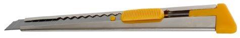 gbc Cutter professionale larghezza lama 9mm, guida in acciaio.