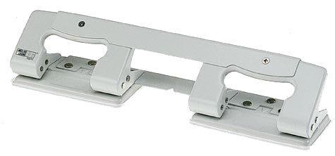 gbc Perforatore Leone 4, 4 fori fora fino a 30 fogli (3mm), con indicatore di centro.