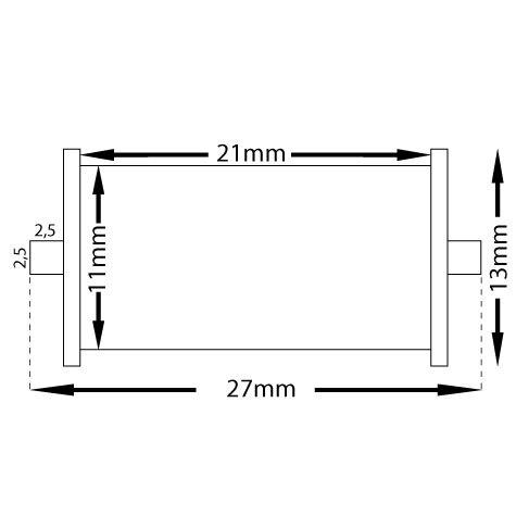 gbc Rullino inchiostrato per prezzatrice motex 5500 rullino inchiostrato per motex 5500.
