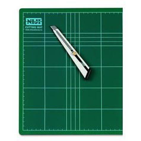 gbc Piano antitaglio doppia superficie f.to 60x45cm art.cm-60 Piano da lavoro antitaglio per cutter..