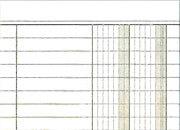 gbc Blocco prima nota tascabile a 2 colonne OCL121.