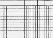 gbc Registro a 4 colonne formato 17x23cm, 64 facciate, carta uso mano, rilegatura cucita a sella.