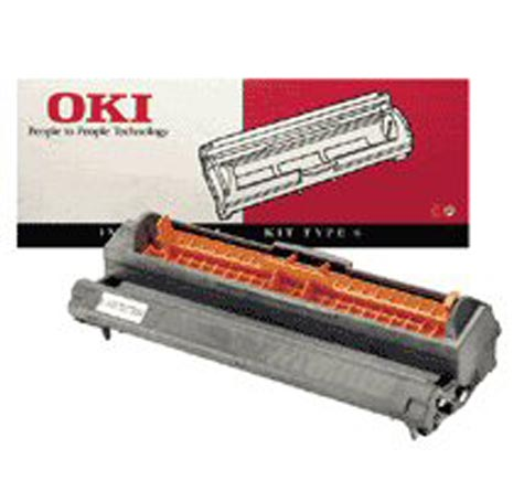 consumabili 40709902 OKI TAMBURO LASER NERO TYPE 6 10.000 PAGINE OKIPAGE-6W-8W-8P-8IM OKIFAX-4500-4550 OKIOFFICE-84-86-87 OLYFAX-1955.