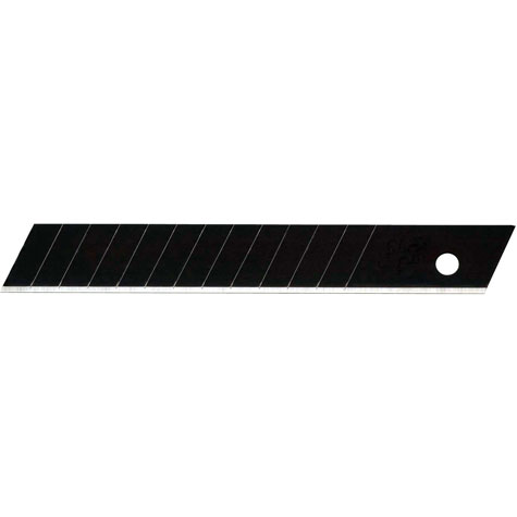 gbc Lama di ricambio brunita Olfa Excel Black FWB Altezza 12,5mm, lunghezza 85mm, spessore 0,25mm. Lama Excel Black: 25% più tagliente rispetto a una lama tradizionale e un'ampiezza della superficie tagliente maggiorata, per permettere una più efficace asportazione del materiale dopo il taglio. Fornito in scatola contenente 10 lamette con 12 settori tranciabili. Compatibile con cutter MT-1, FWP-1. Prodotto originale giapponese, MADE IN JAPAN.