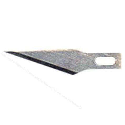 gbc Lama di ricambio per cutter Olfa c-601 HOBBY KNIFE affilatissima, per lavori di precisione..