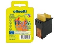 consumabili 84436 OLIVETTI CARTUCCIA INK-JET COLORE FPJ26 OFX/1000/1900/2100/3100 LAB/270 JET LAB/500 JP/170/190/360/450.