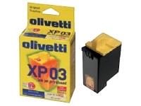 consumabili B0261  OLIVETTI CARTUCCIA INK-JET RAINBOW PACK XP03 ARTJET/10/12 JETLAB/600 COPYLAB/200.