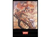 gbc Quaderno Maxi Levi's, formato A4, quadro da 4mm 72 facciate, carta da 70gr, rilegatura con punto metallico a sella, senza frontespizio.