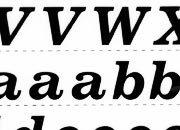 trasferibilir41 13,1mm, NERO. Trasferelli-Trasferibili R41 in fogli 25x35cm. Lettere Maiuscole e minuscole Volta J p. 116 R41LNJ14MmN.