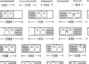 trasferibilir41 Cucine, 1:100, NERO. Trasferelli-Trasferibili R41 in fogli 9x25cm R41GRA1128N.
