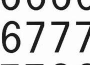 trasferibilir41 13,1mm, NERO. Trasferelli-Trasferibili R41 in fogli 9x25cm. Numeri  Recta A p. 112 R41LNA1480n.