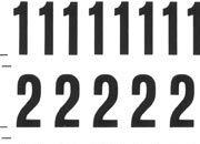 trasferibilir41 9,5mm, NERO. Trasferelli-Trasferibili R41 in fogli 9x25cm. Numeri  Grotesck G p. 116 R41LNG1280n.