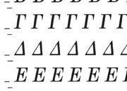 trasferibilir41 4,3mm, NERO. Trasferelli-Trasferibili R41 in fogli 9x25cm. Lettere Maiuscole Weber GH (greco) p. 161 R41LNGH62n.
