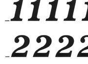 trasferibilir41 9,5mm, NERO. Trasferelli-Trasferibili R41 in fogli 9x25cm. Numeri  Volta J p. 116 R41LNJ1280n.