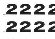 trasferibilir41 7,5mm, NERO. Trasferelli-Trasferibili R41 in fogli 9x25cm. Numeri  Grotesk RE p. 128 R41LNRE1080n.