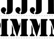 trasferibilir41 20mm, NERO. Trasferelli-Trasferibili R41 in fogli 25x35cm. Lettere Maiuscole Stencil RF p. 129 Ispirato dalle mascherine che si usano per stampigliare a mano le scritte sugli imballi, con particolari inchiostri. Questo carattere ha una sua particolare efficacia e consegue ben definiti risultati grafici nelle composizioni. Ovviamente, per non togliere nulla alla sua efficacia sarà bene non accostargli caratteri neri o nerissimi nè di origine scritta o fantasia. P. 129.
