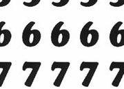 trasferibilir41 7,5mm, NERO. Trasferelli-Trasferibili R41 in fogli 9x25cm. Numeri  Cooper Black RG p. 130 R41LNRG1080n.