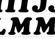 trasferibilir41 20mm, NERO. Trasferelli-Trasferibili R41 in fogli 25x35cm. Lettere Maiuscole Cooper Black RG p. 130 R41LNRG20MaN.