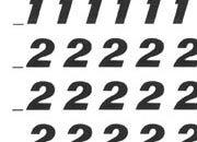 trasferibilir41 5,3mm, NERO. Trasferelli-Trasferibili R41 in fogli 9x25cm. Numeri  Etrusco RL p. 132 R41LNRL880n.