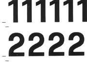 trasferibilir41 10,2mm, NERO. Trasferelli-Trasferibili R41 in fogli 9x25cm. Numeri  Forma RQ p. 136 R41LNRQ1380n.