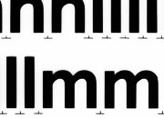 trasferibilir41 20mm, NERO. Trasferelli-Trasferibili R41 in fogli 25x35cm. Lettere Minuscole Forma RQ p. 136 R41LNRQ20miN.