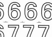 trasferibilir41 13,1mm, NERO. Trasferelli-Trasferibili R41 in fogli 9x25cm. Numeri  Forma RS p. 137 R41LNRS1480n.