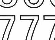 trasferibilir41 20mm, NERO. Trasferelli-Trasferibili R41 in fogli 9x25cm. Numeri  Forma RS p. 137 R41LNRS2080n.