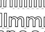 trasferibilir41 20mm, NERO. Trasferelli-Trasferibili R41 in fogli 25x35cm. Lettere Minuscole Forma RS p. 137 R41LNRS20miN.