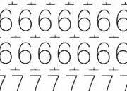 trasferibilir41 6,3mm, NERO. Trasferelli-Trasferibili R41 in fogli 9x25cm. Numeri  Forma RT p. 138 R41LNRT980n.