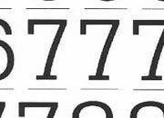 trasferibilir41 13,1mm, NERO. Trasferelli-Trasferibili R41 in fogli 9x25cm. Numeri  Dattilo SF p. 146 R41LNSF1480n.