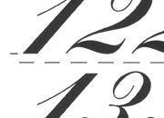 trasferibilir41 20mm, NERO. Trasferelli-Trasferibili R41 in fogli 9x25cm. Numeri  Kunstler SK p. 150 R41LNSK2080n.