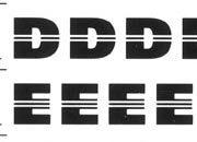 trasferibilir41 7,5mm, NERO. Trasferelli-Trasferibili R41 in fogli 9x25cm. Lettere Maiuscole Equator SQ p. 155 Carattere lineare di grande effetto grafico. I filetti centrati danno una grande scorrevolezza e legamento ottico fra le lettere, facilitando la lettura maiuscola. Adatto per comporre marchi, titoli, testate e composizioni originali.. P. 155 R41LNSQ102n-11