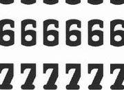 trasferibilir41 7,5mm, NERO. Trasferelli-Trasferibili R41 in fogli 9x25cm. Numeri  Center SR p. 156 R41LNSR1080n.