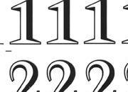 trasferibilir41 13,1mm, NERO. Trasferelli-Trasferibili R41 in fogli 9x25cm. Numeri  Trump V p. 124 R41LNV1480n.